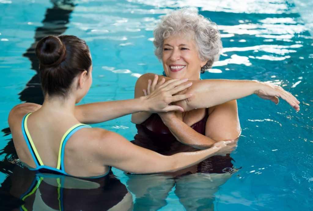 ¿Qué es la terapia acuática?